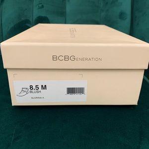 BCGBGENERATION Gloriana Blush Rose Gold Sandal